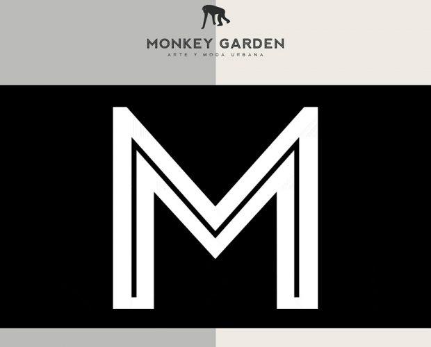 monkey garden arte moda urbana