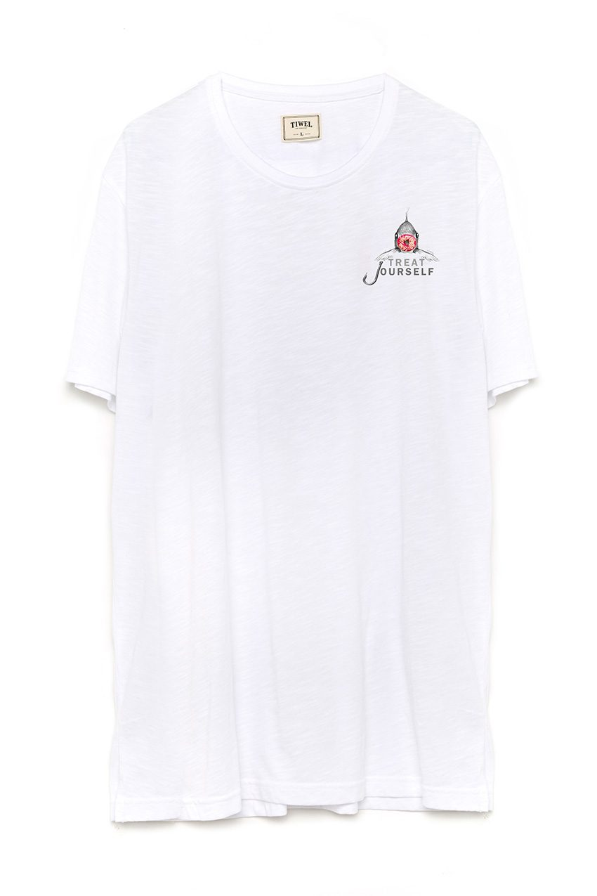 Camiseta Reddonut White