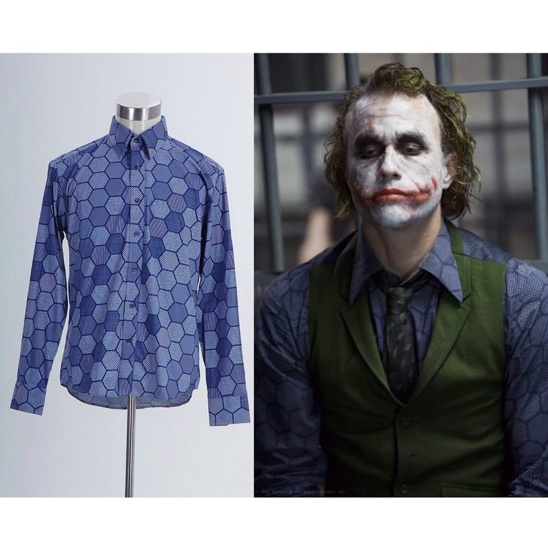 camisa estampada joker