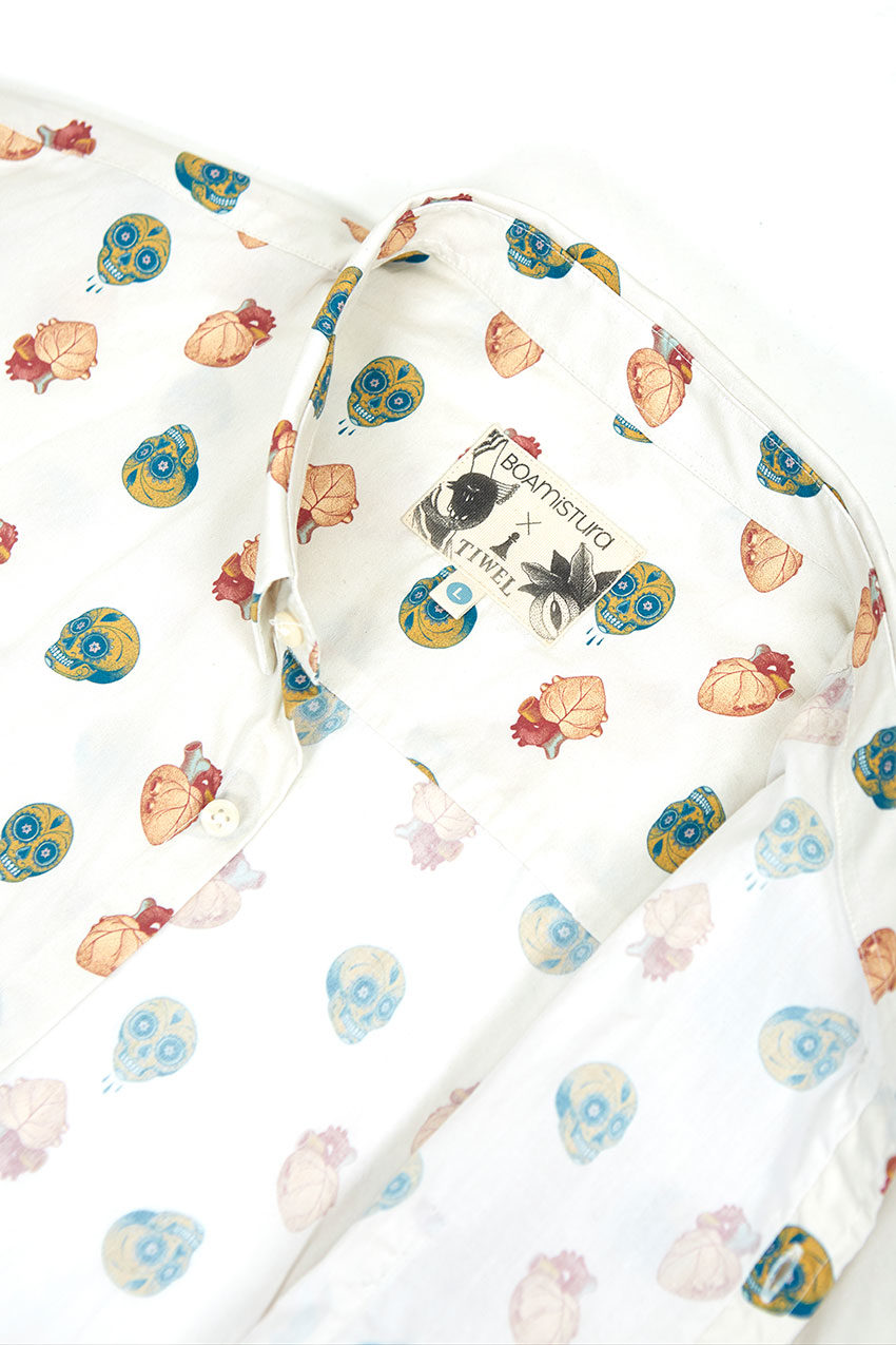 Boa Mexico Shirt Tiwel snow white 03