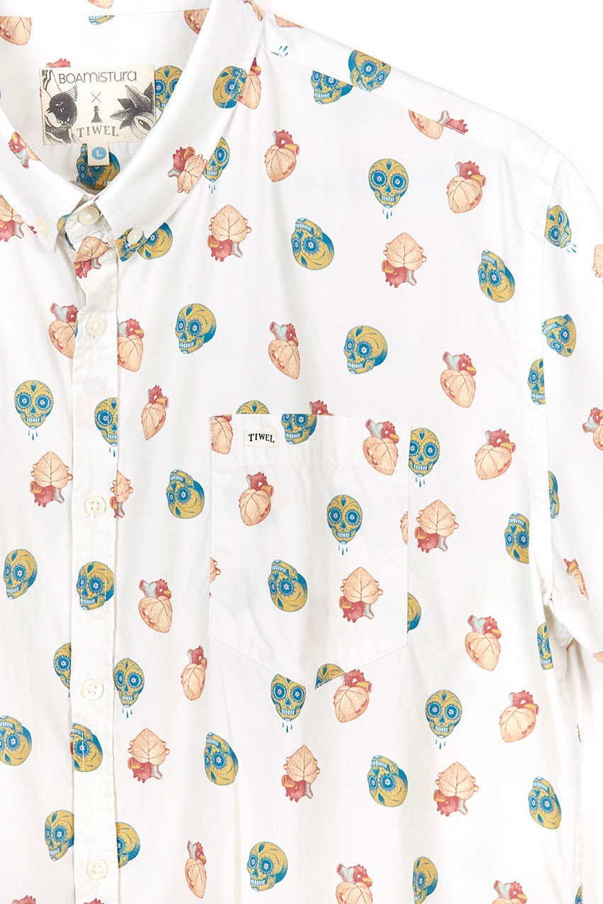 Boa Mexico Shirt Tiwel snow white 04