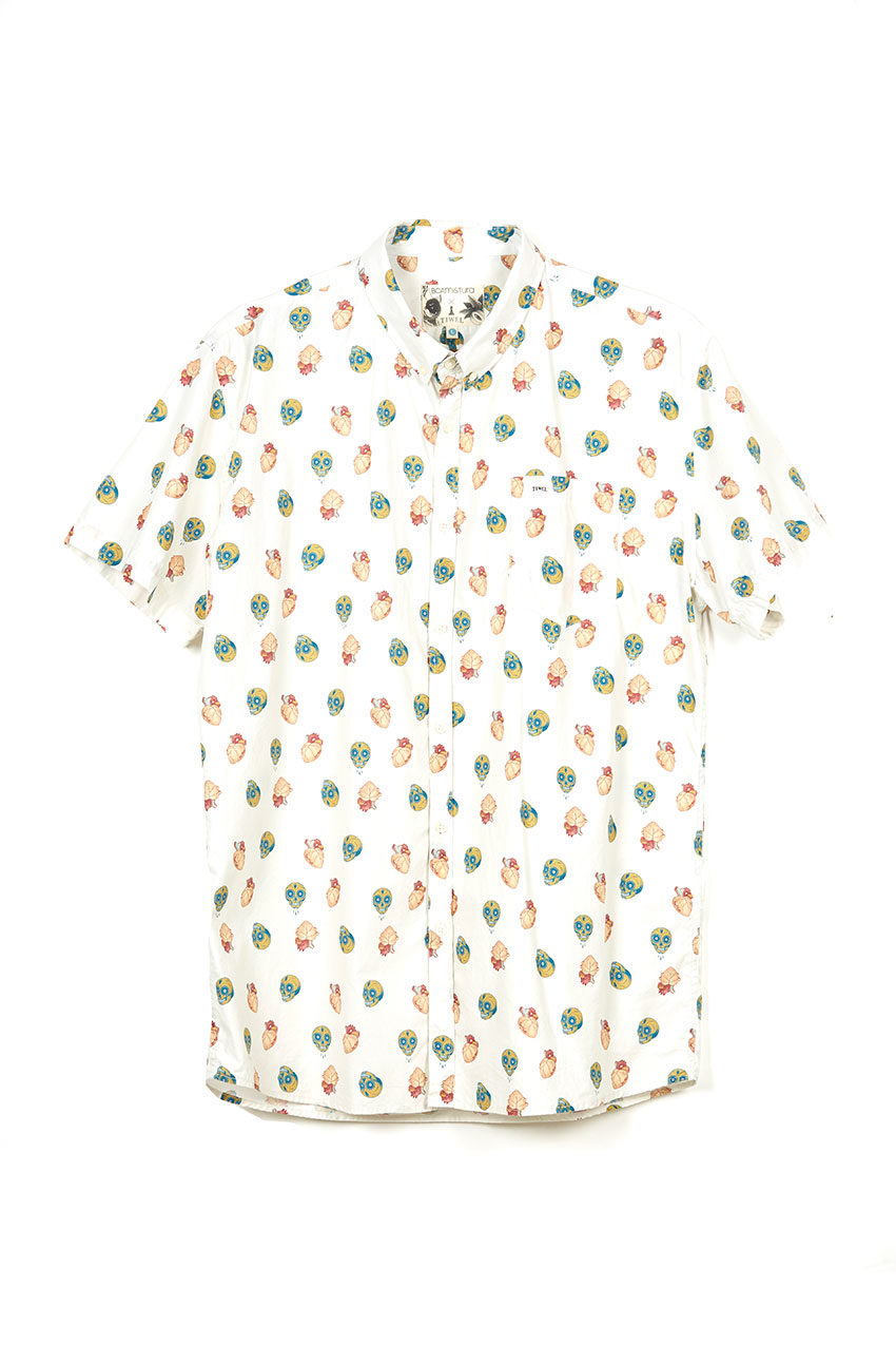 Boa Mexico Shirt Tiwel snow white