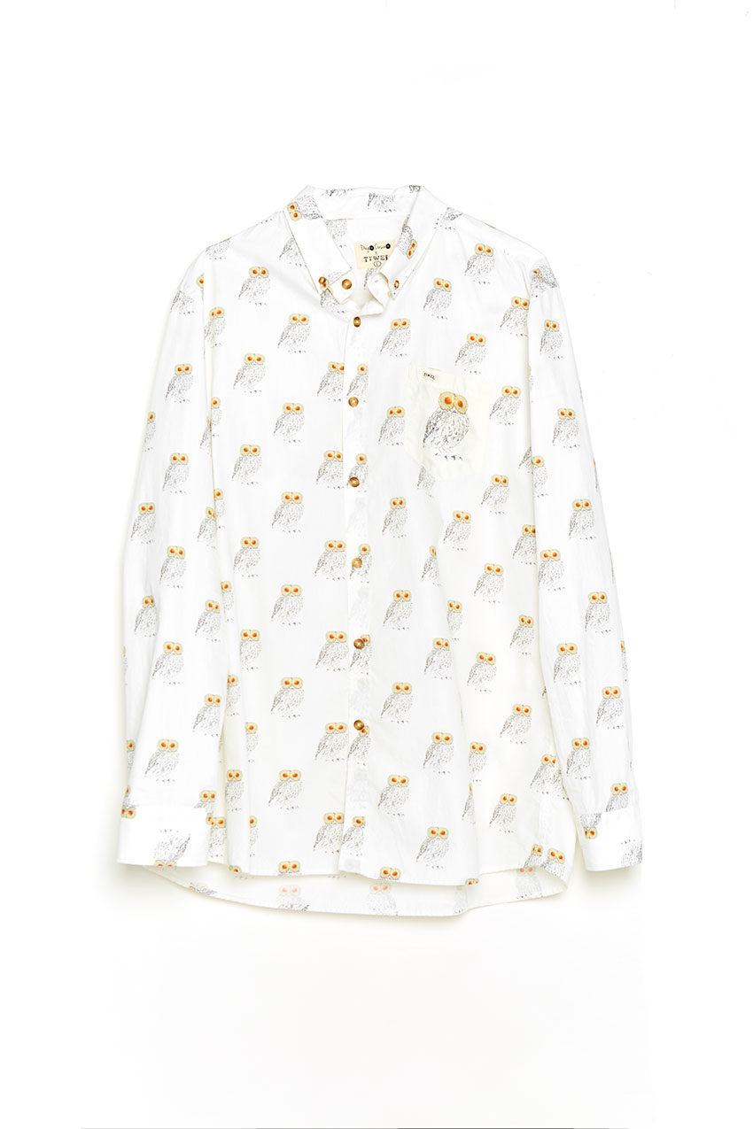 Camisa Eggs Tiwel snow white