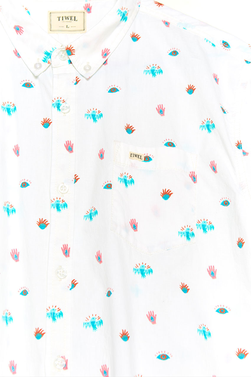 Illusion Shirt Tiwel snow white 03
