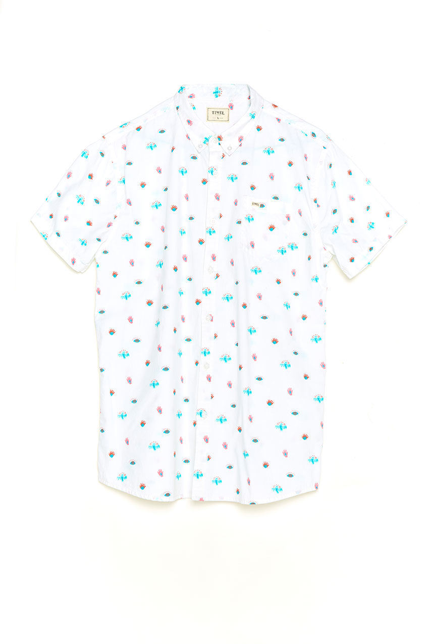 Illusion Shirt Tiwel snow white