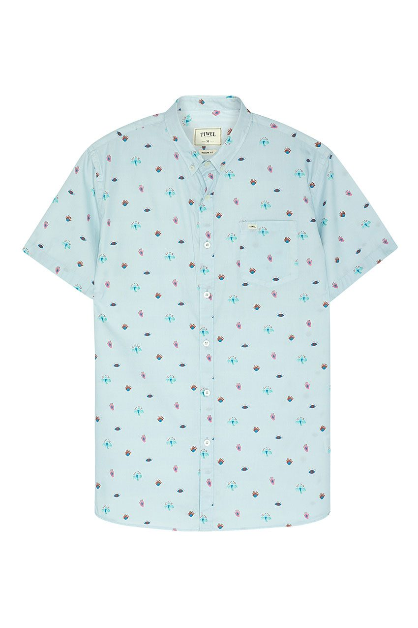 Camisa Illusion Tiwel wan blue