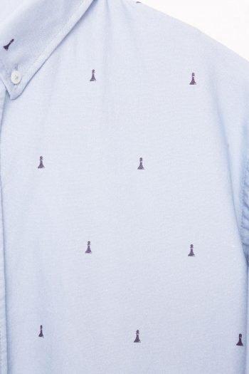 Peon Shirt Tiwel Blue Yonder 03