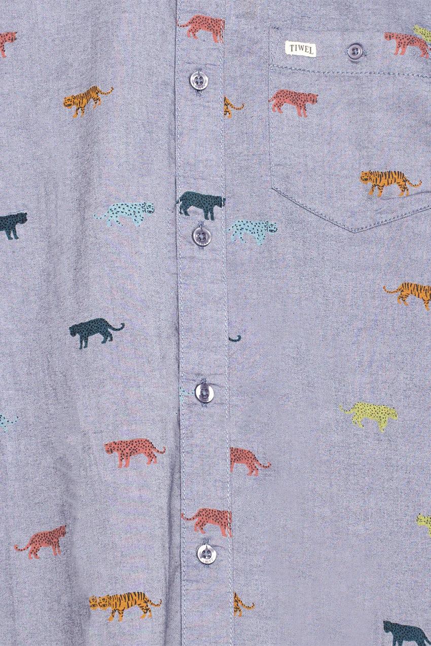 Camisa Tigers Light Blue Melange 02