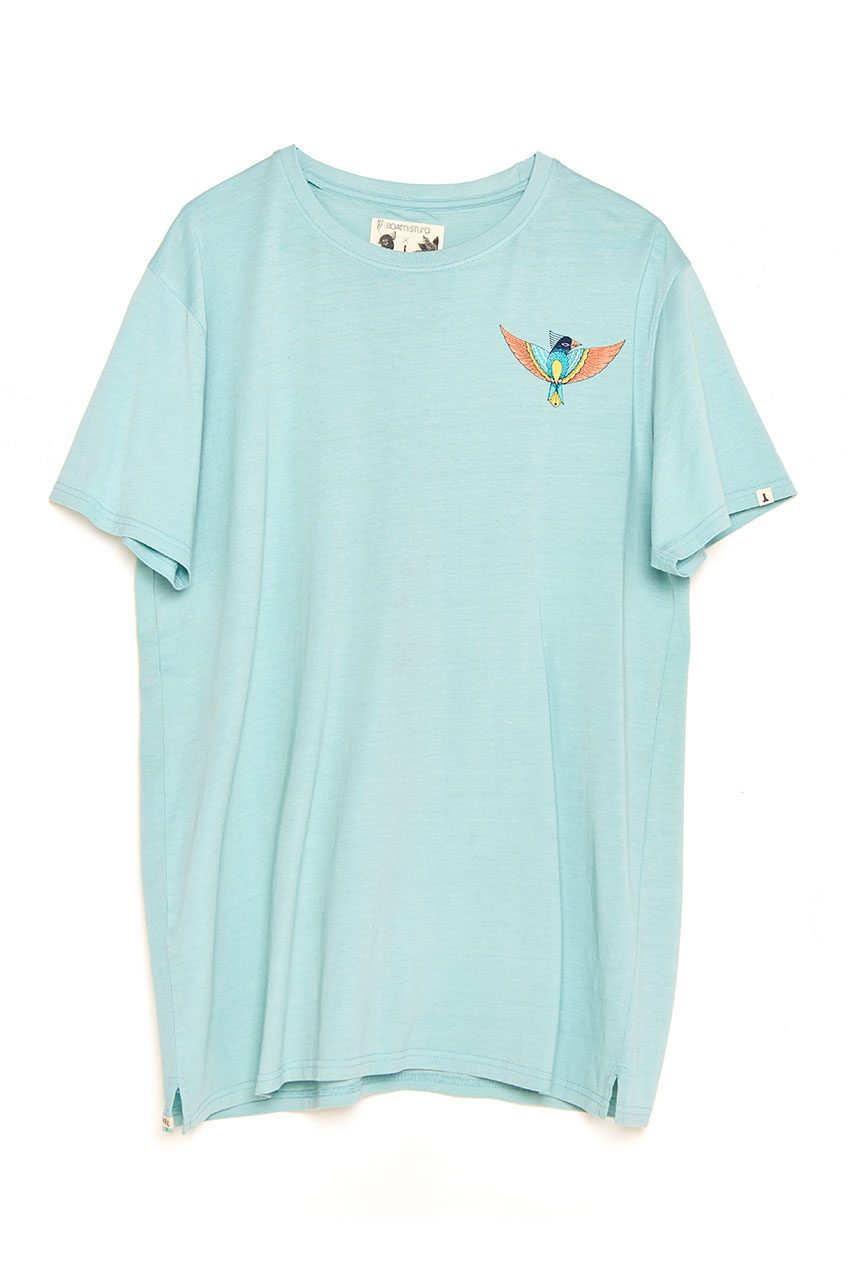 Camiseta Boa Bird blue haze