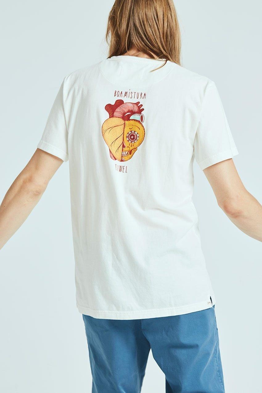 Camiseta Boa Calaca Tiwel off white 02