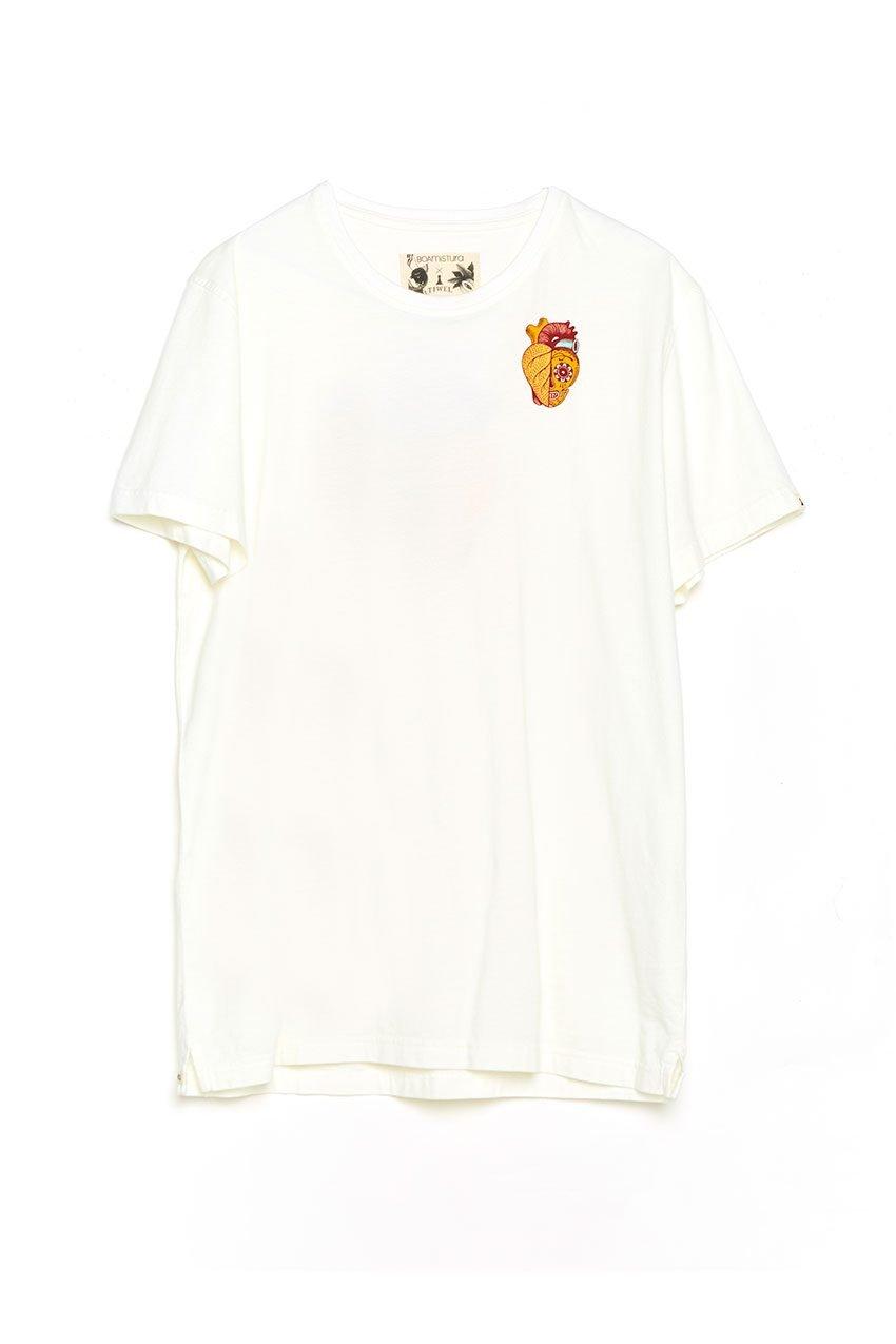 Camiseta Boa Calaca Tiwel off white