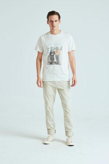 Boyfriend Tshirt Tiwel snow white 01