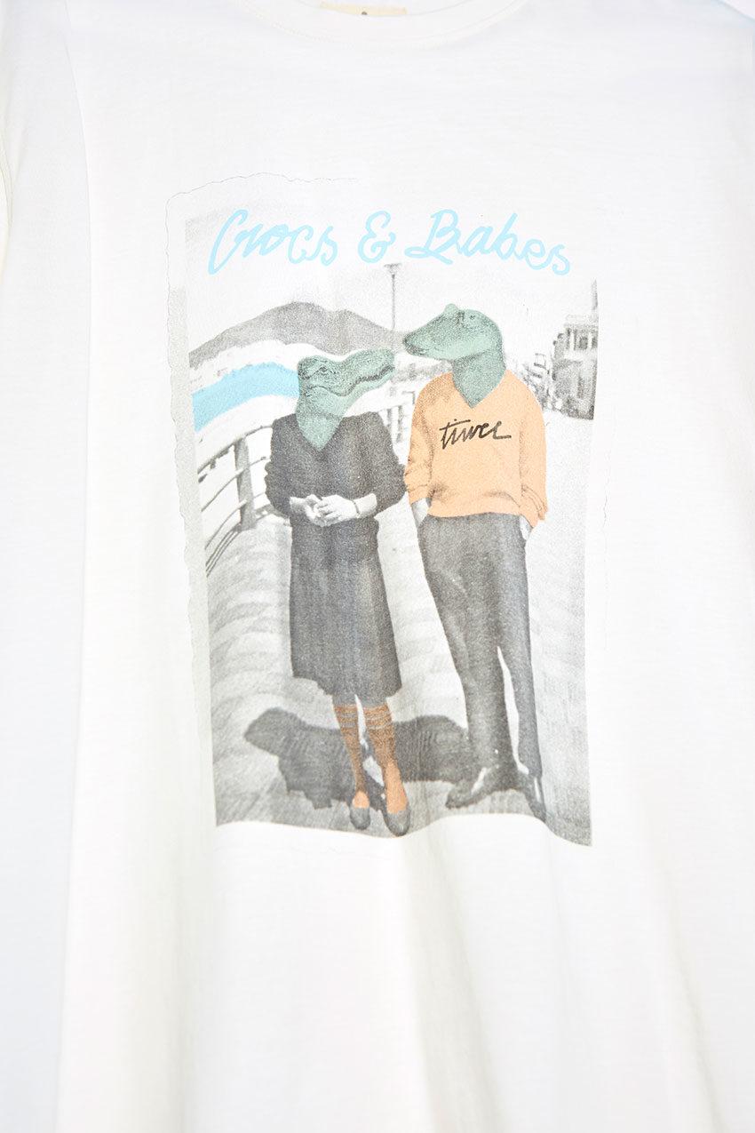 Camiseta Boyfriend Tiwel snow white 02