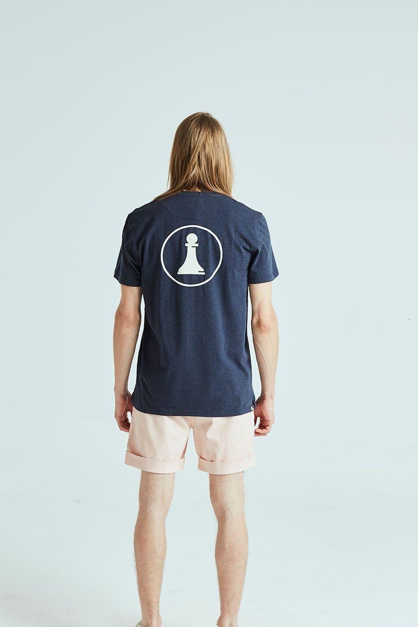 Camiseta Closed Tiwel dark navy melange 02
