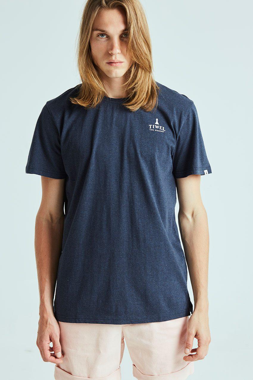 Camiseta Closed Tiwel dark navy melange 03