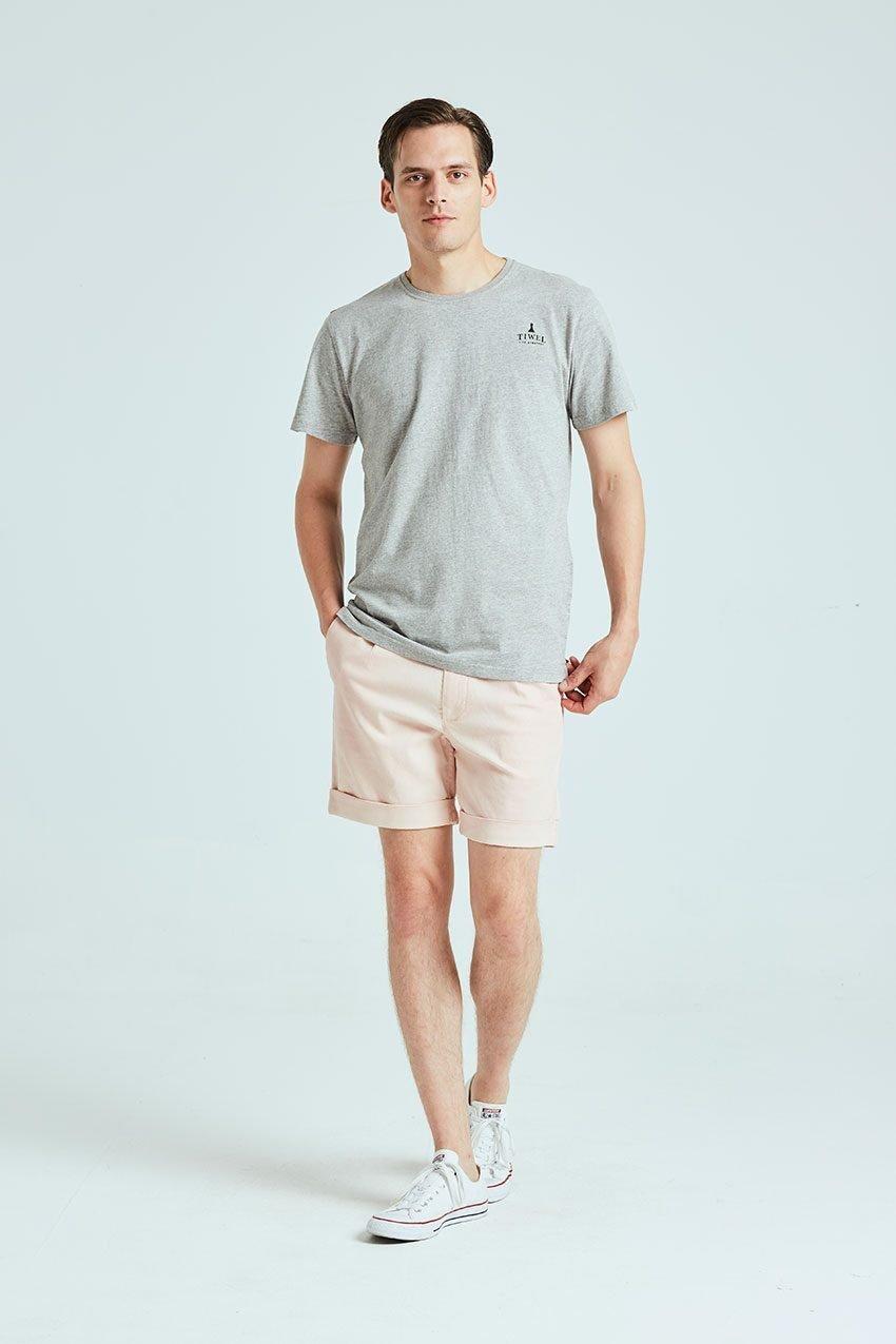 Camiseta Closed Tiwel grey melange 01