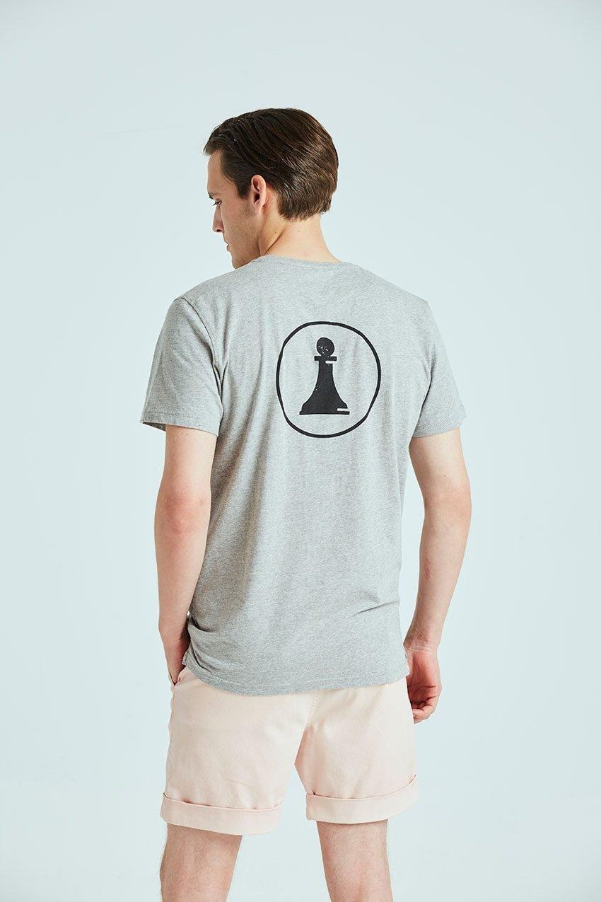 Camiseta Closed Tiwel grey melange 02
