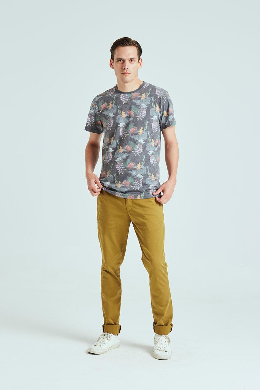 Exotic Tshirt Tiwel faded black 01