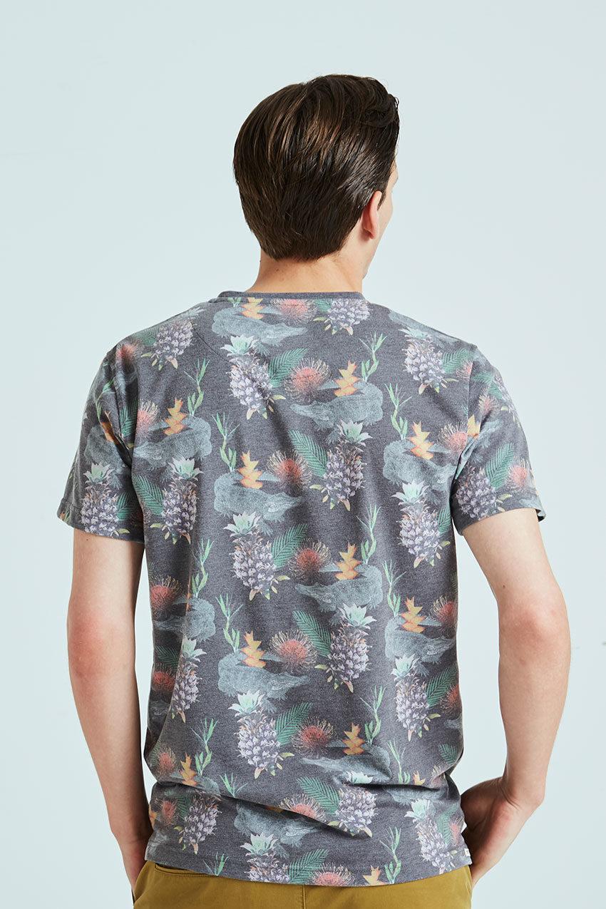 Exotic Tshirt Tiwel faded black 03