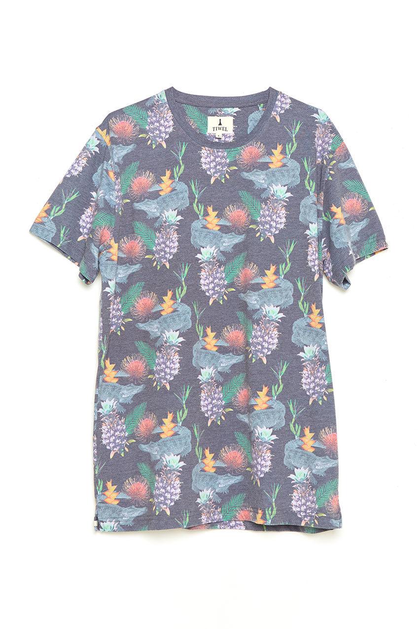 Exotic Tshirt Tiwel faded black