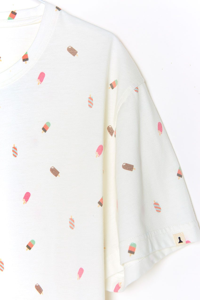 Camiseta Fresh Tiwel snow white 03