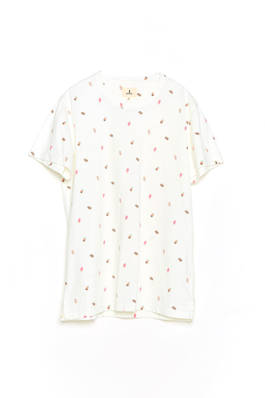 Camiseta Fresh Tiwel snow white