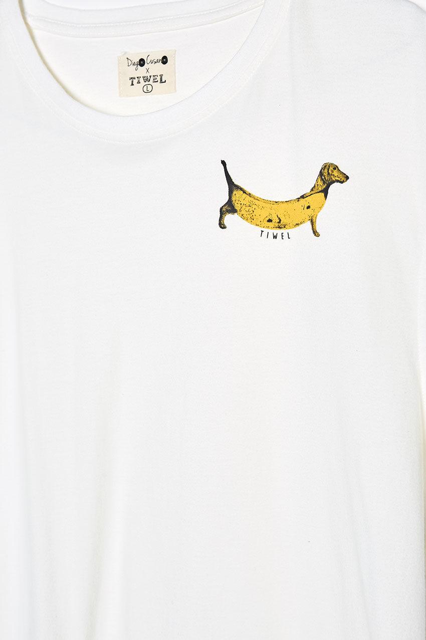 Hotdog Tshirt Tiwel snow white 03