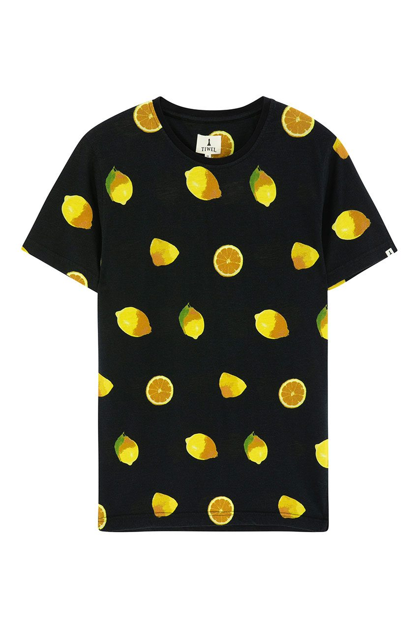 Camiseta Lemonade Tiwel faded black