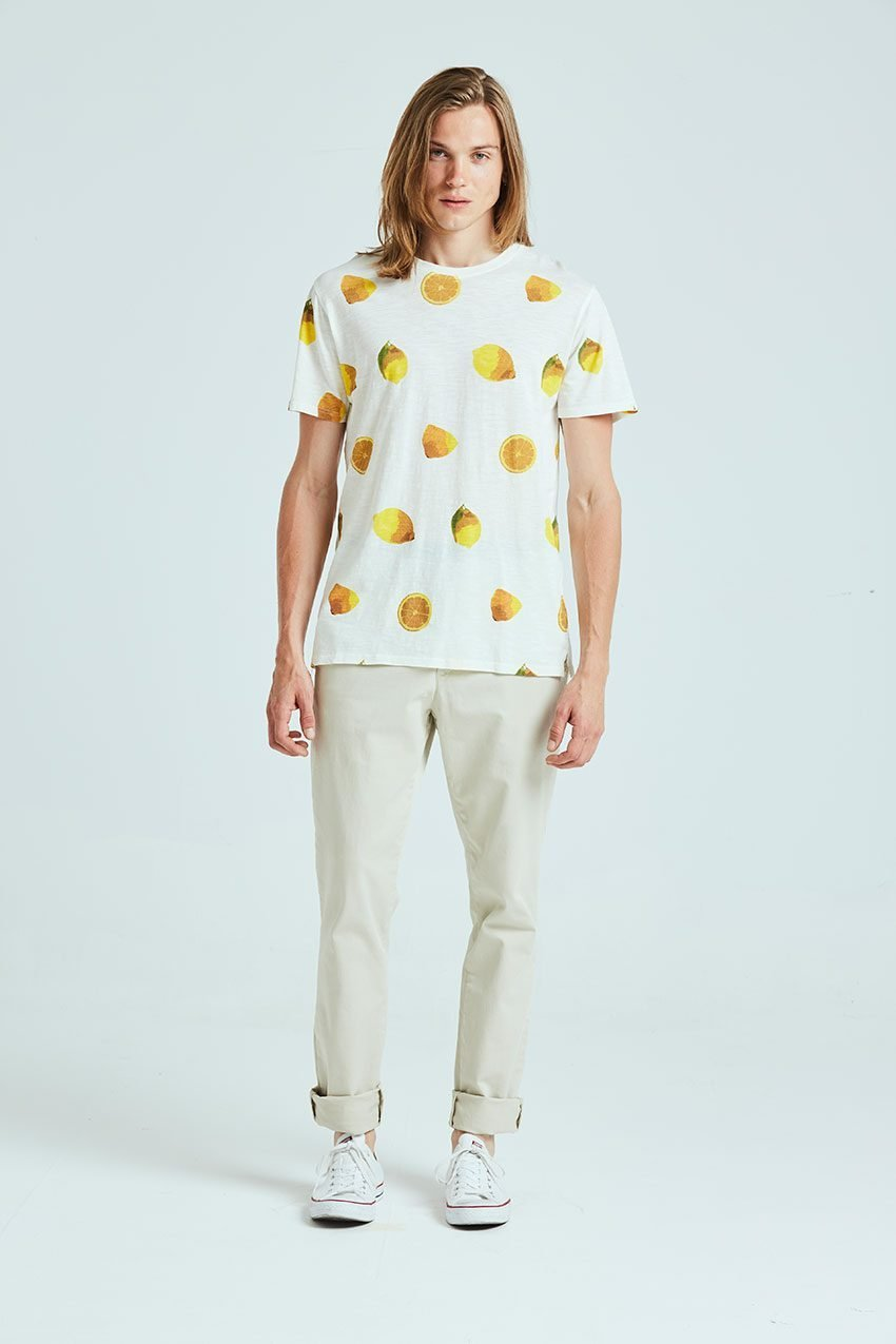 Camiseta Lemonade Tiwel off white 01