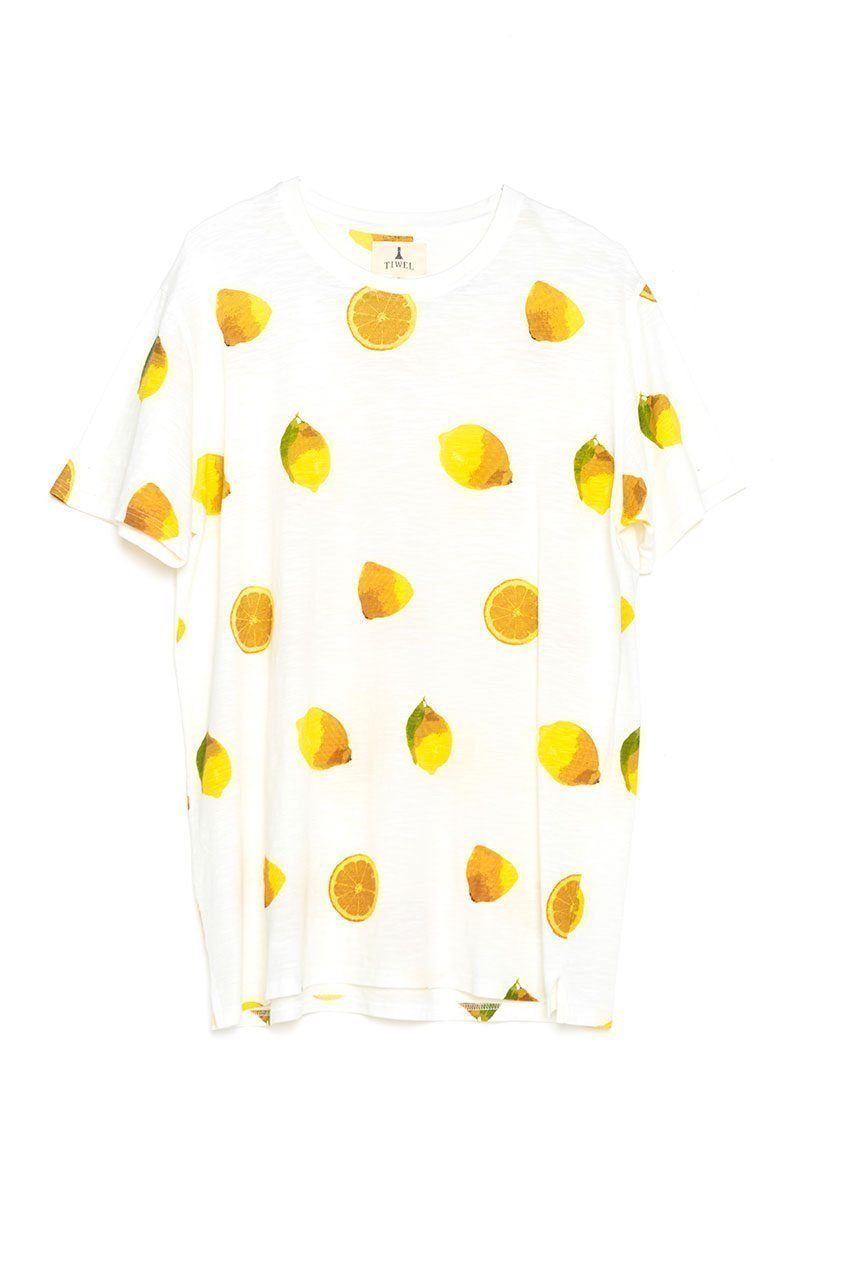 Camiseta Lemonade Tiwel off white