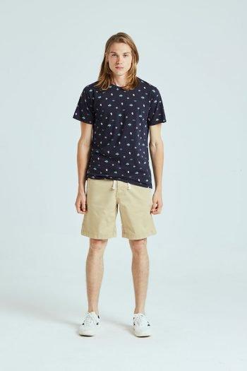Mini Tshirt Tiwel dark navy 01