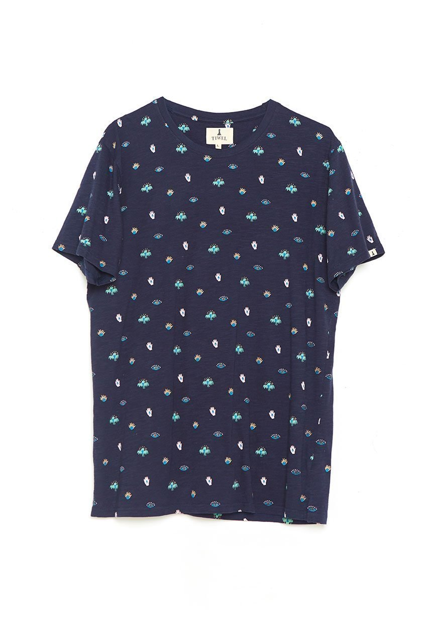 Camiseta Mini Tiwel dark navy