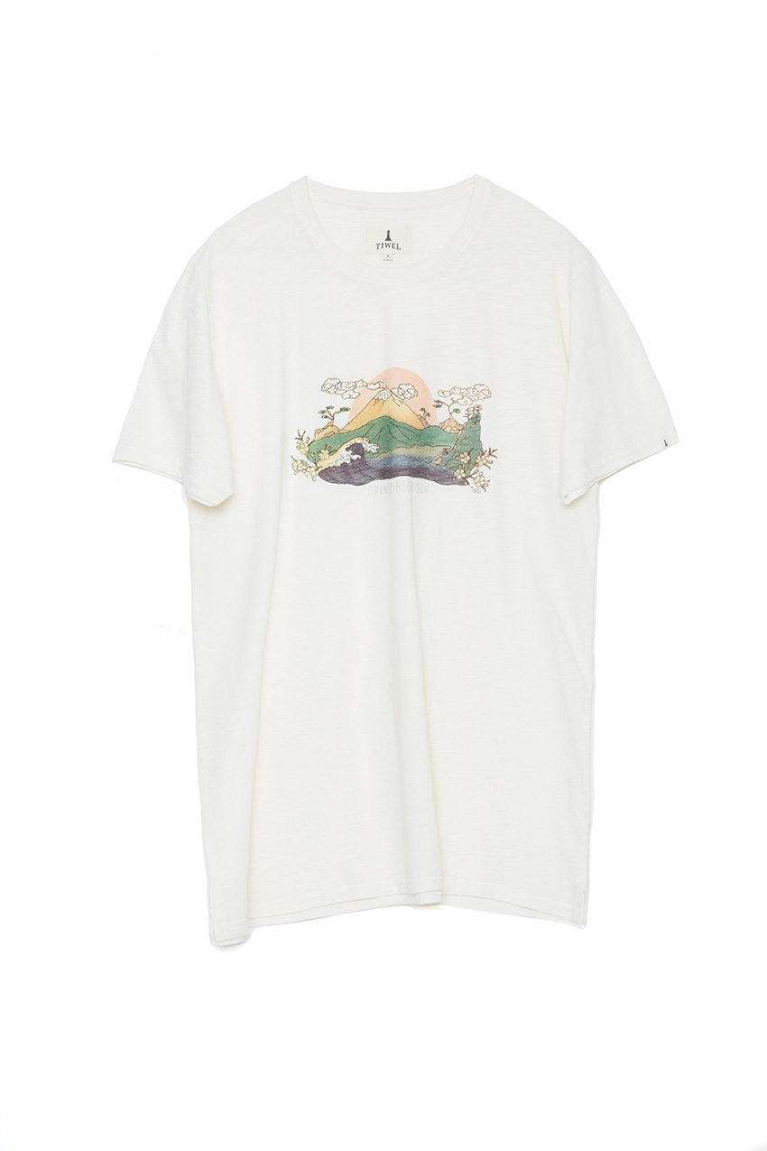 Camiseta Neonsun Off White