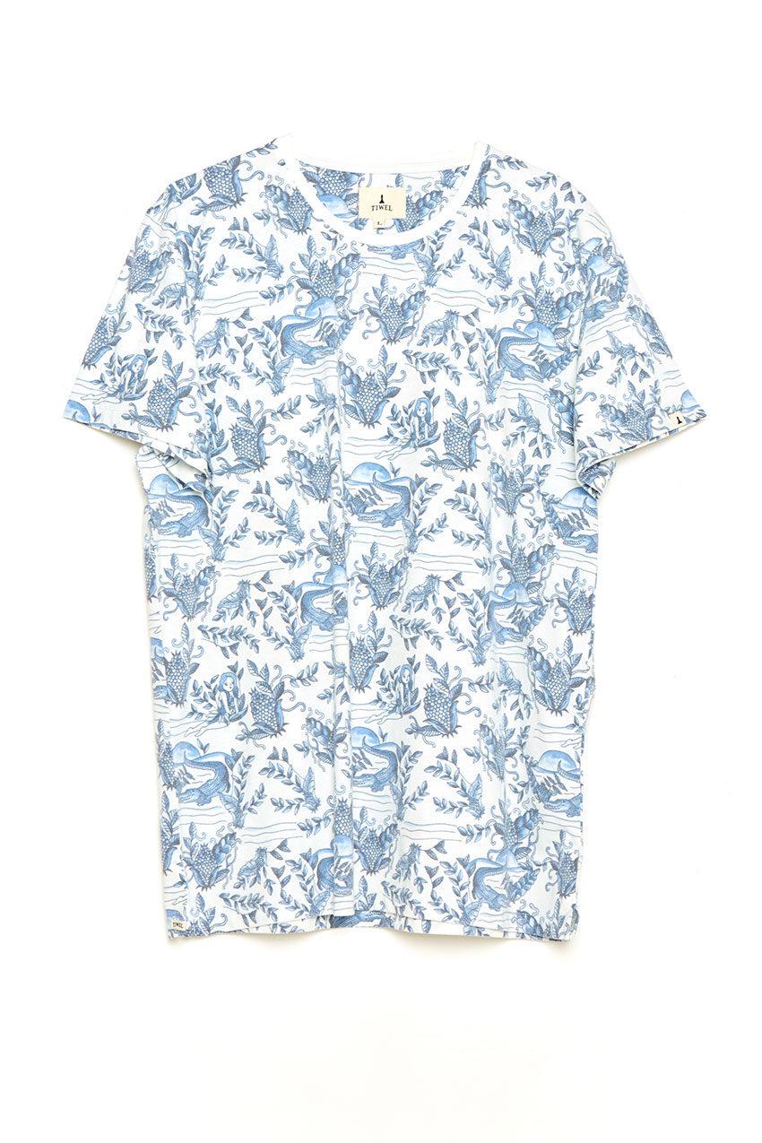 Over Tshirt Tiwel Snow white