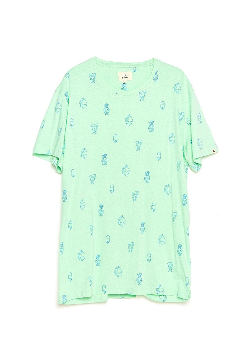 Camiseta Seres Tiwel pastel green