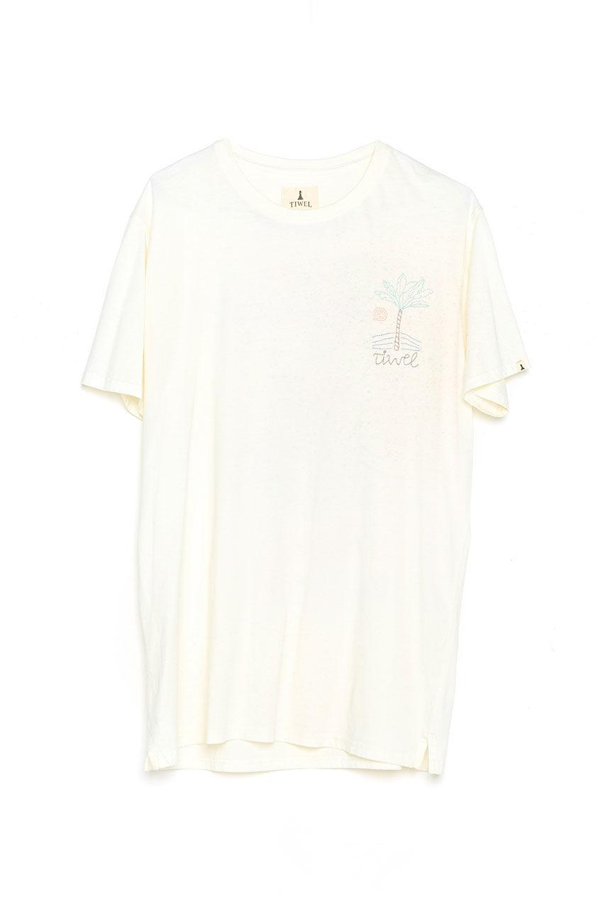 Camiseta Sticht Tiwel snow white