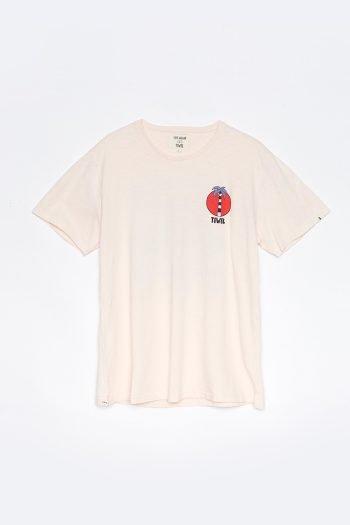 Camiseta Summer Time Tiwel Yeye Weller rosewater delantera