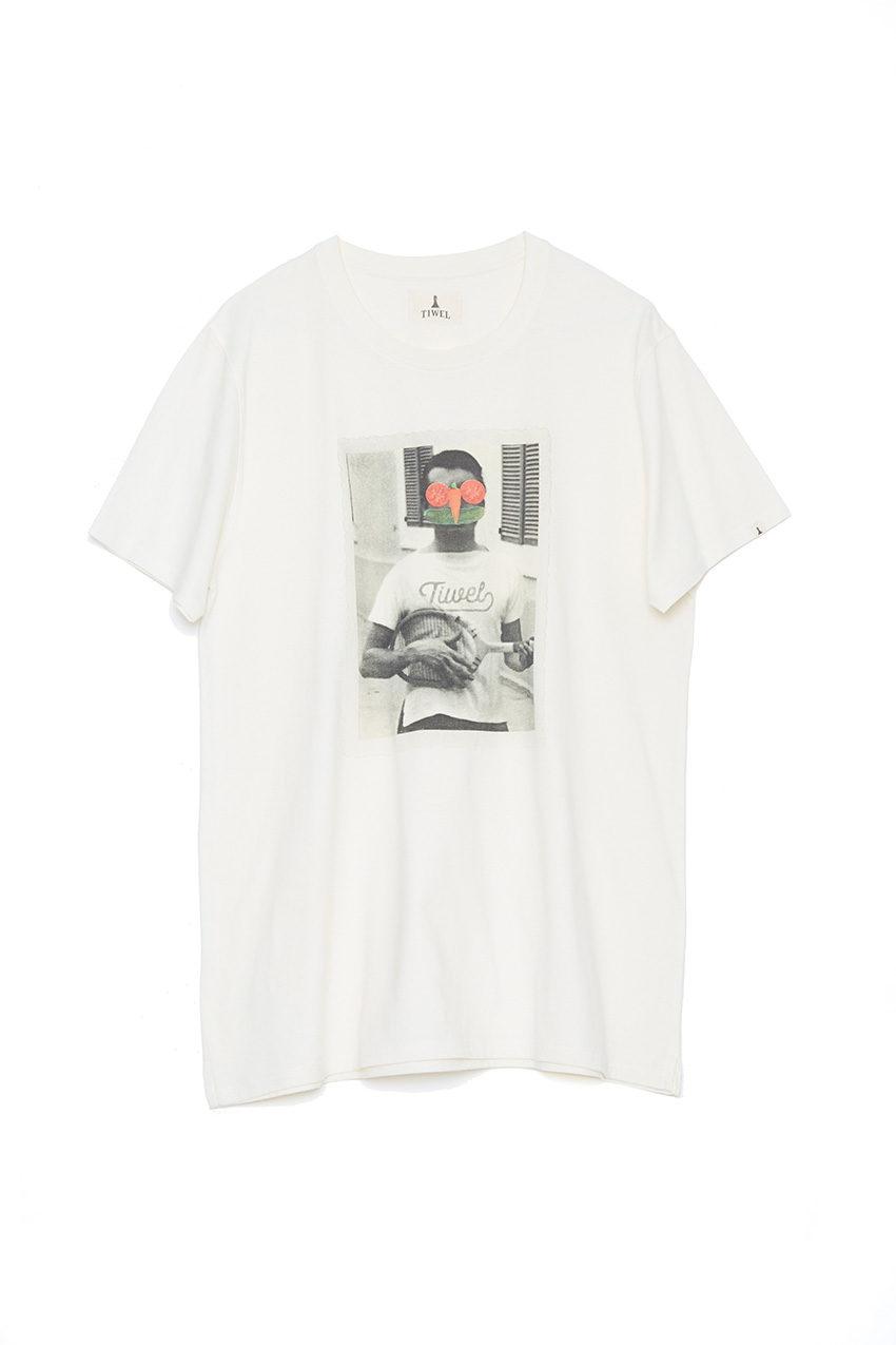 Camiseta Tennis Off White