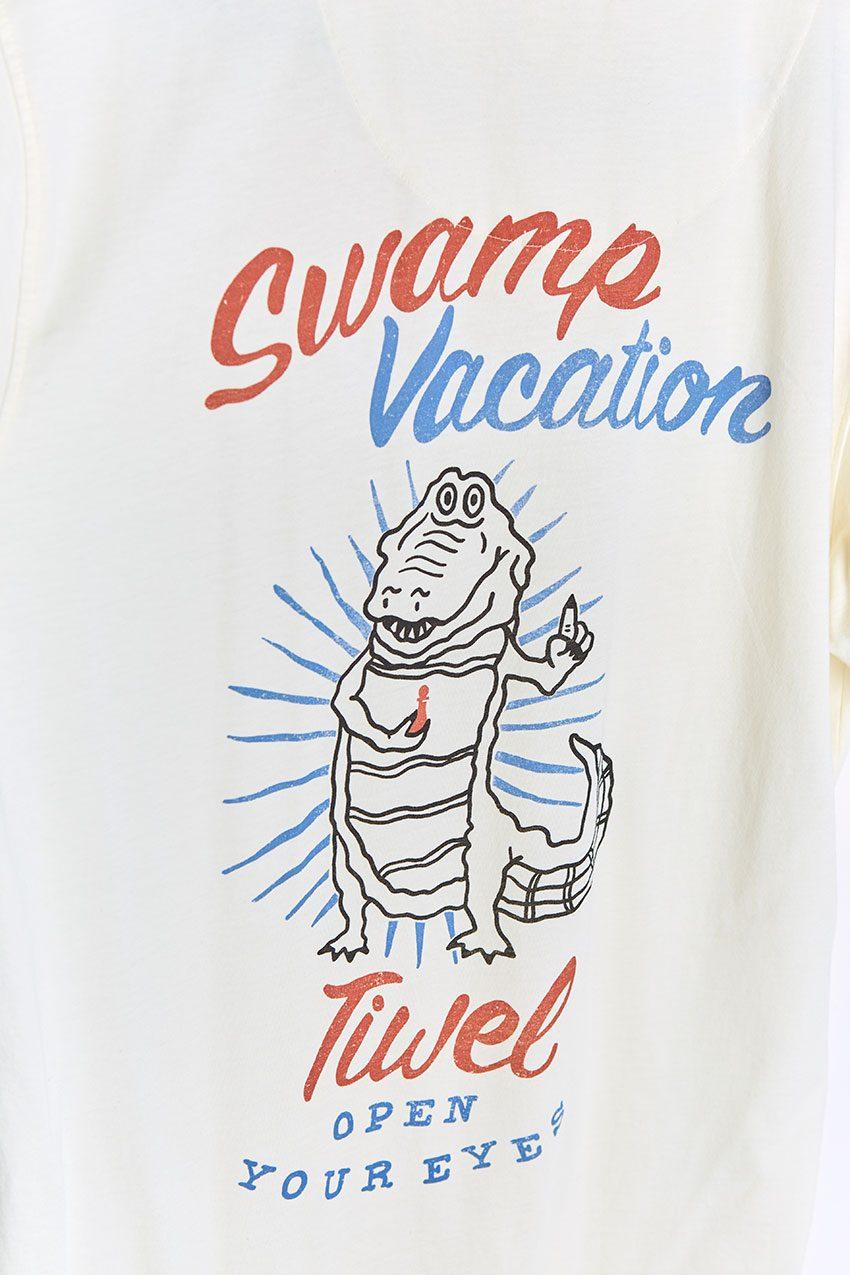 Camiseta Vacation Tiwel off white 04