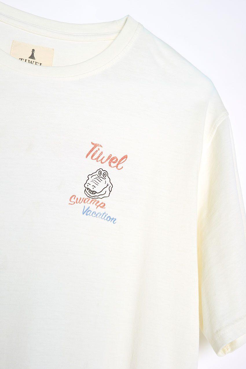 Camiseta Vacation Tiwel off white 05
