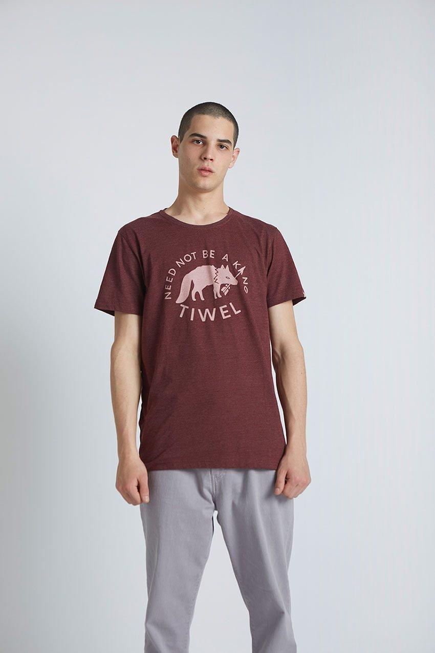 Wolf Tshirt Tiwel Cordoban melange 02