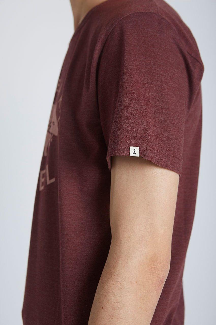Wolf Tshirt Tiwel Cordoban melange 04