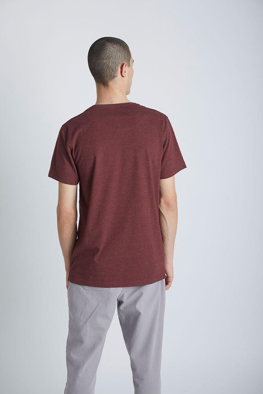 Wolf Tshirt Tiwel Cordoban melange 05
