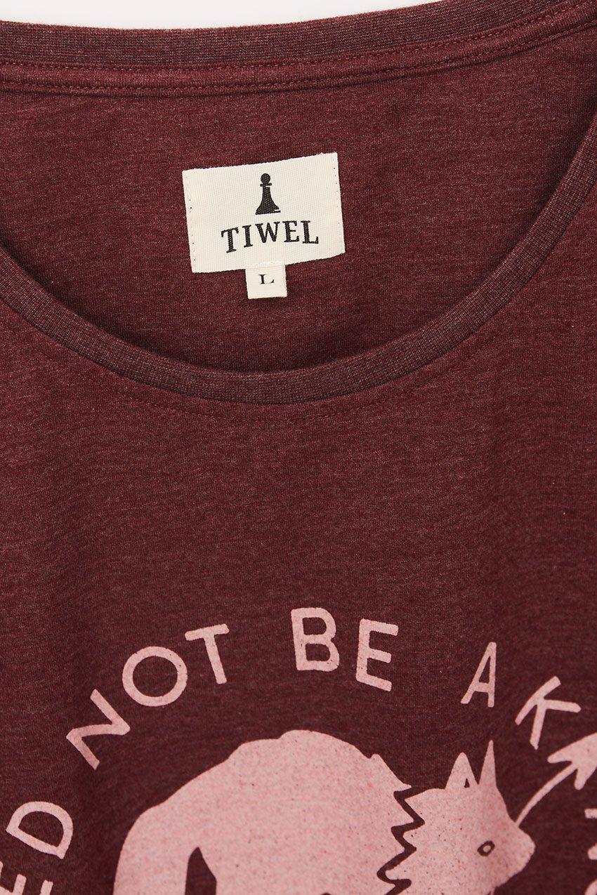 Wolf Tshirt Tiwel Cordoban melange 07