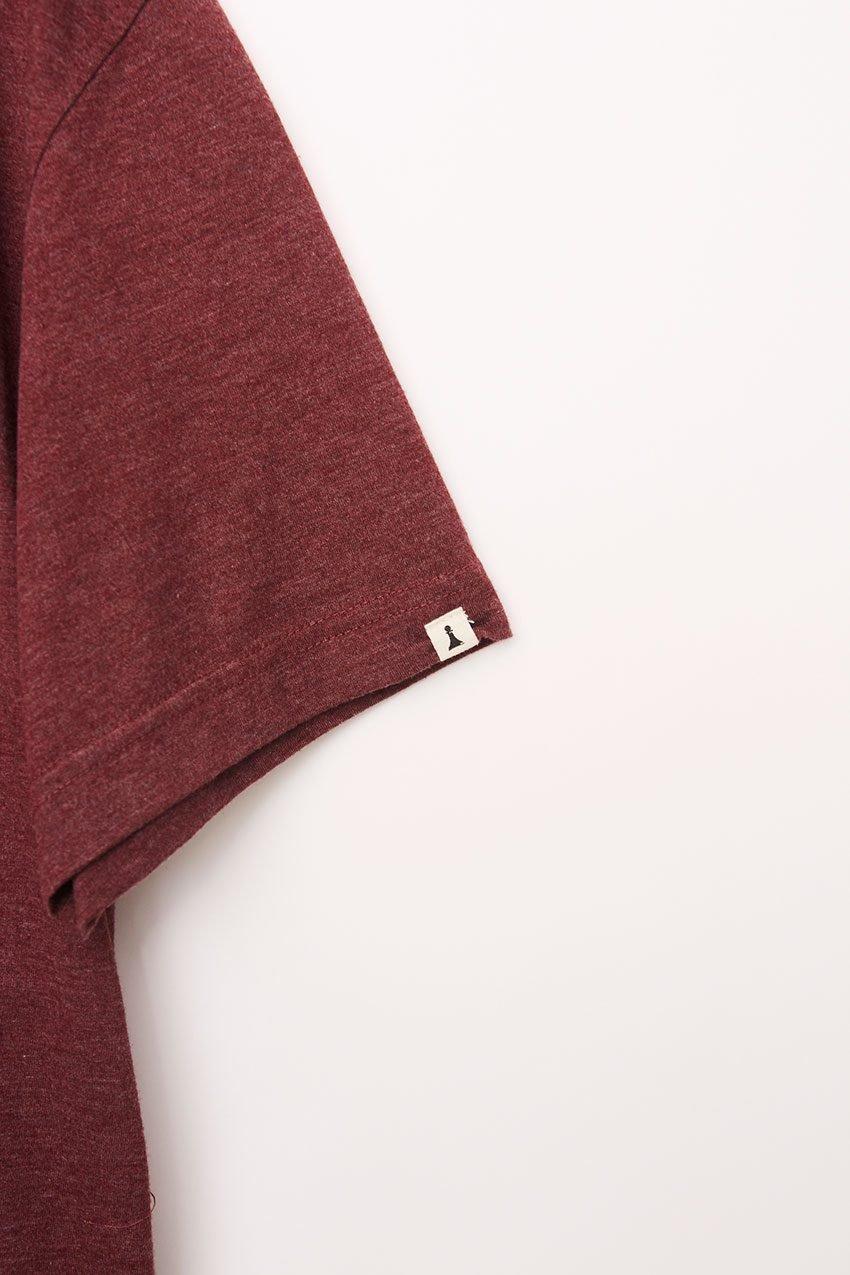 Wolf Tshirt Tiwel Cordoban melange 08