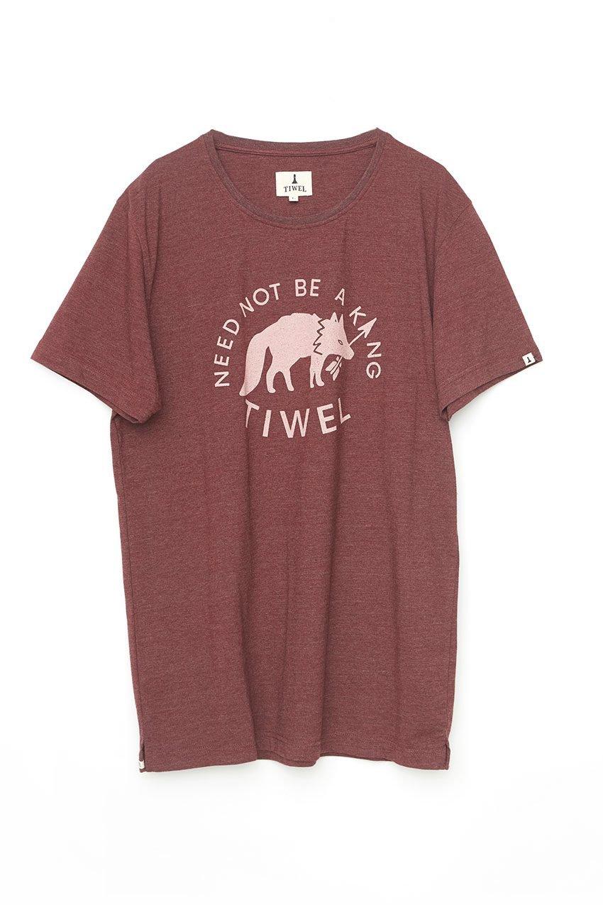 Wolf Tshirt Tiwel Cordoban melange