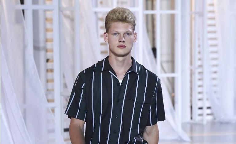 camisa cuello cubano