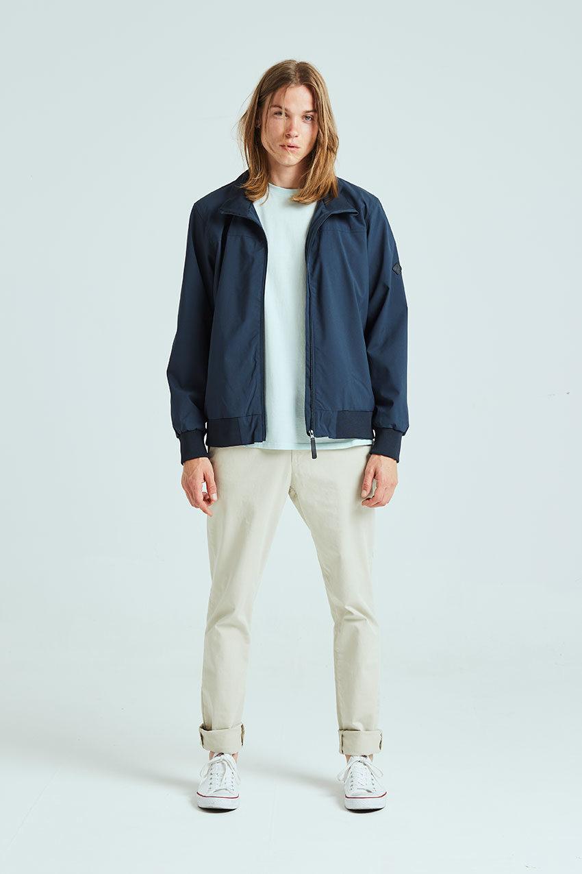 Haan jacket Tiwel dark navy 01