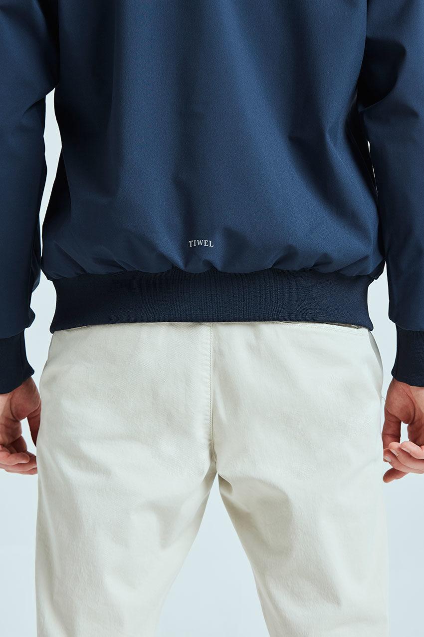 Haan jacket Tiwel dark navy 02