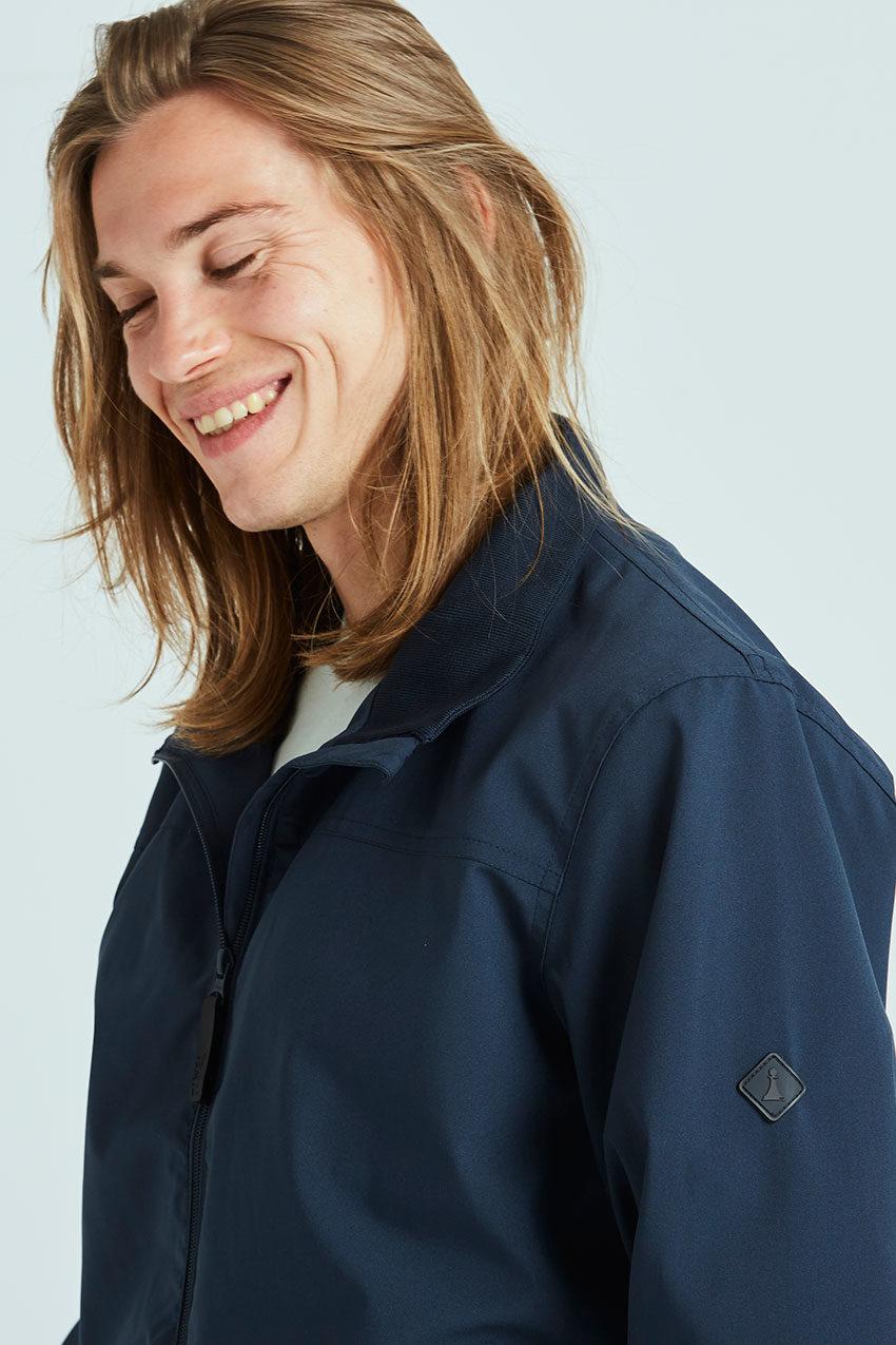 Haan jacket Tiwel dark navy 04